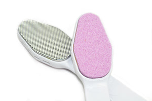 Double Sided  Pumice Stone with Stainless Steel Callus Remover