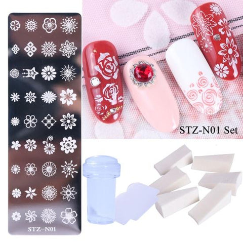 Nail Art Stamping Plate Stamper