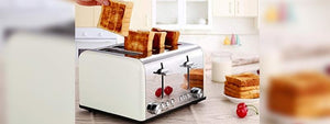 A Family 4 Slice Pop-up Toaster Will Result as Big Time Saver