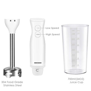 HB001 8-Speed Immersion Hand Blender