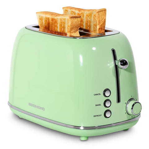 ST028 Retro Stainless Steel Toaster