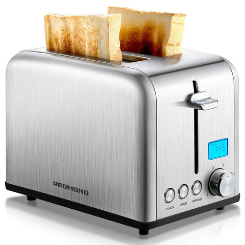 ST029 Stainless Steel Toaster w/LCD Timer