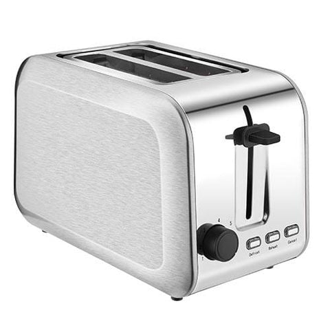 2 Slice Compact Stainless Steel Toaster ST013
