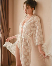 Load image into Gallery viewer, Soft Lace Robe