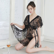 Load image into Gallery viewer, V-neck Lace Babydoll