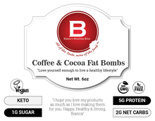 Load image into Gallery viewer, Coffee & Cocoa Fat Bomb - KETO