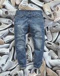 Pinroll Jogger Denim 2.0 - Distressed Sky Blue