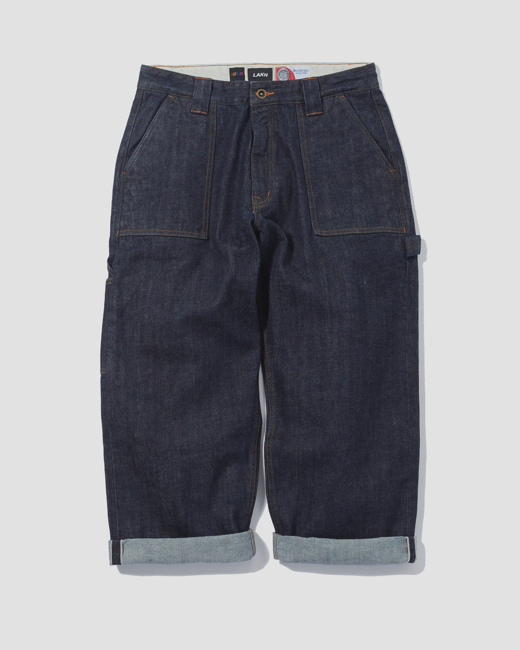 LAKH x OVERLAB Worker Pants - Navy
