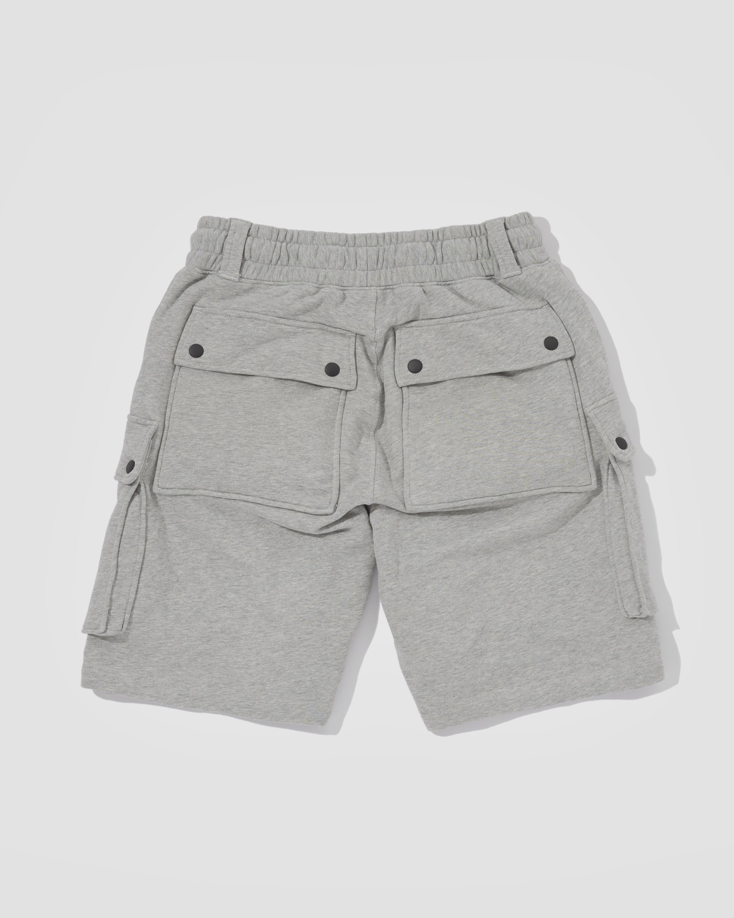 Knitted Shorts - Grey