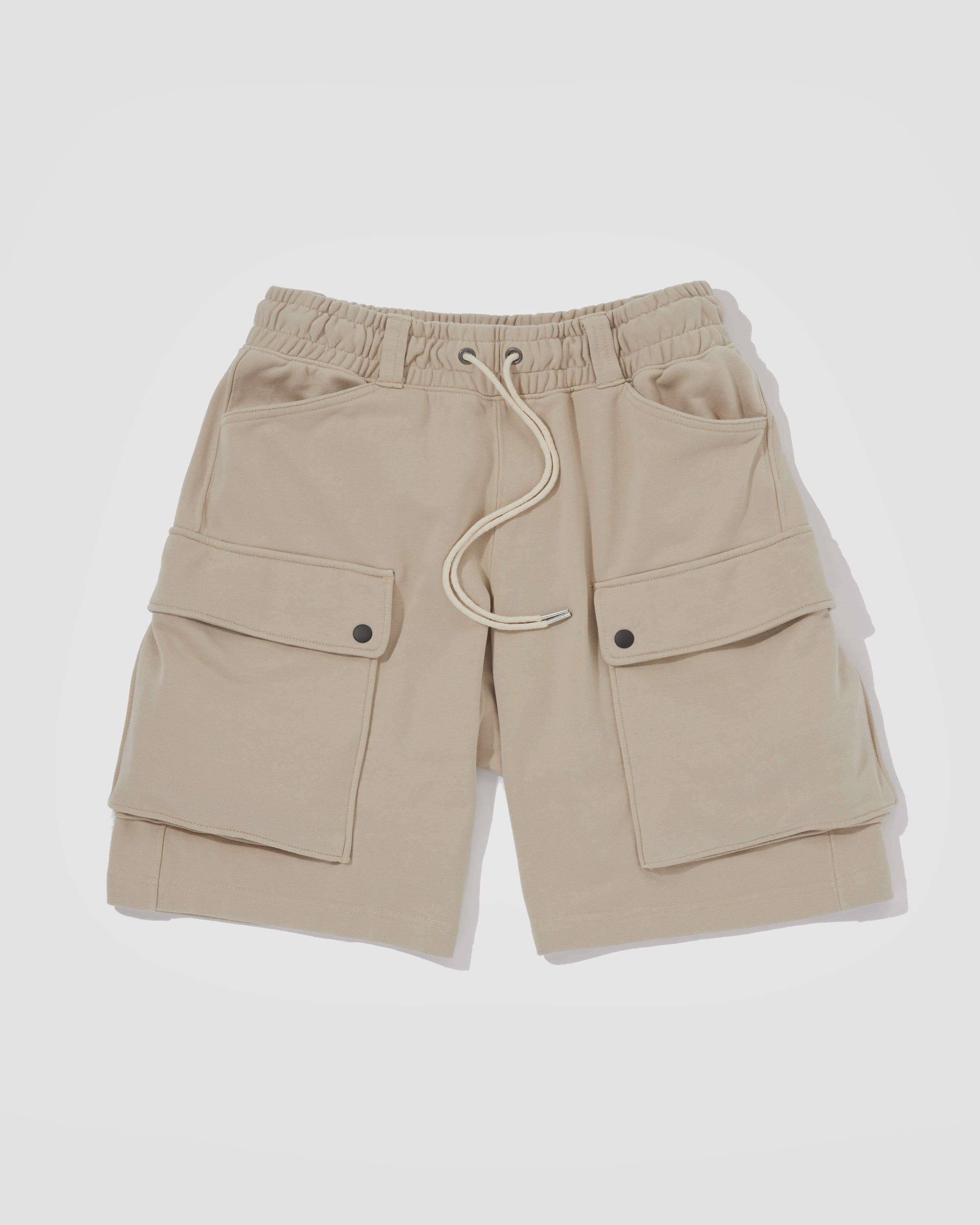 Knitted Shorts - Sand