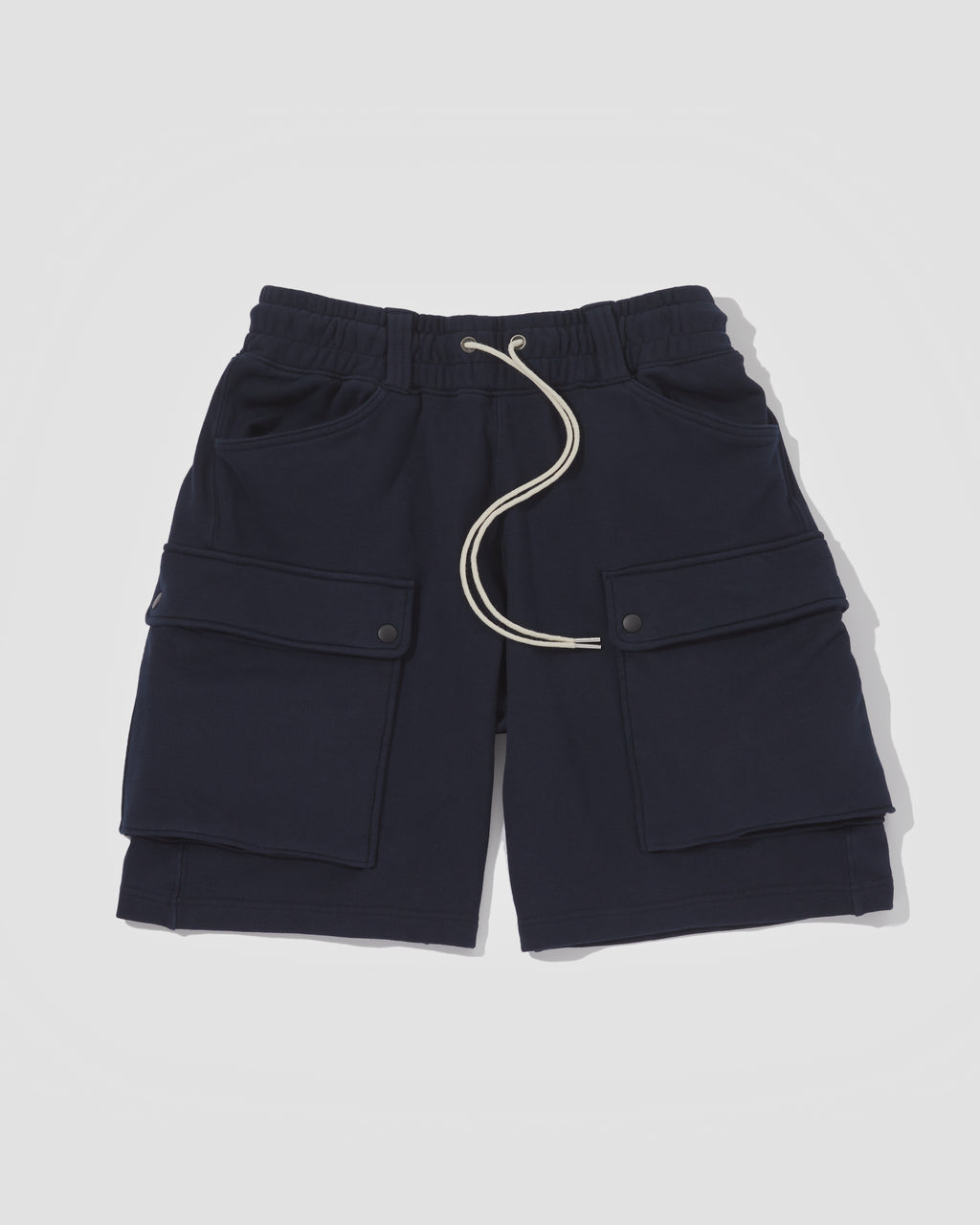 Knitted Shorts - Navy