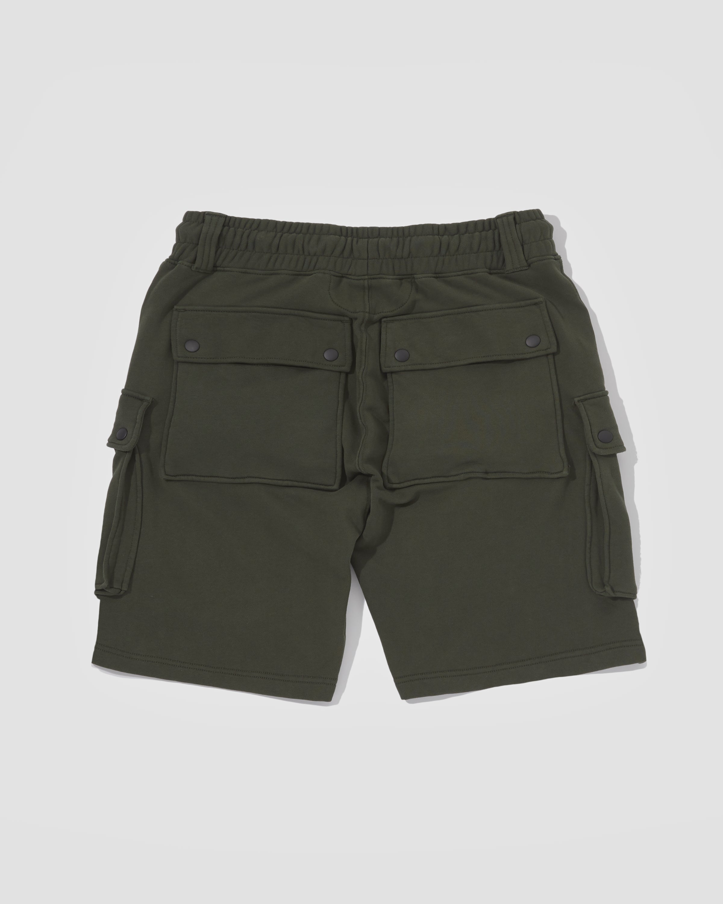 Knitted Shorts - Dark Green