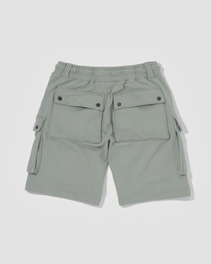 Knitted Shorts - Mist Green