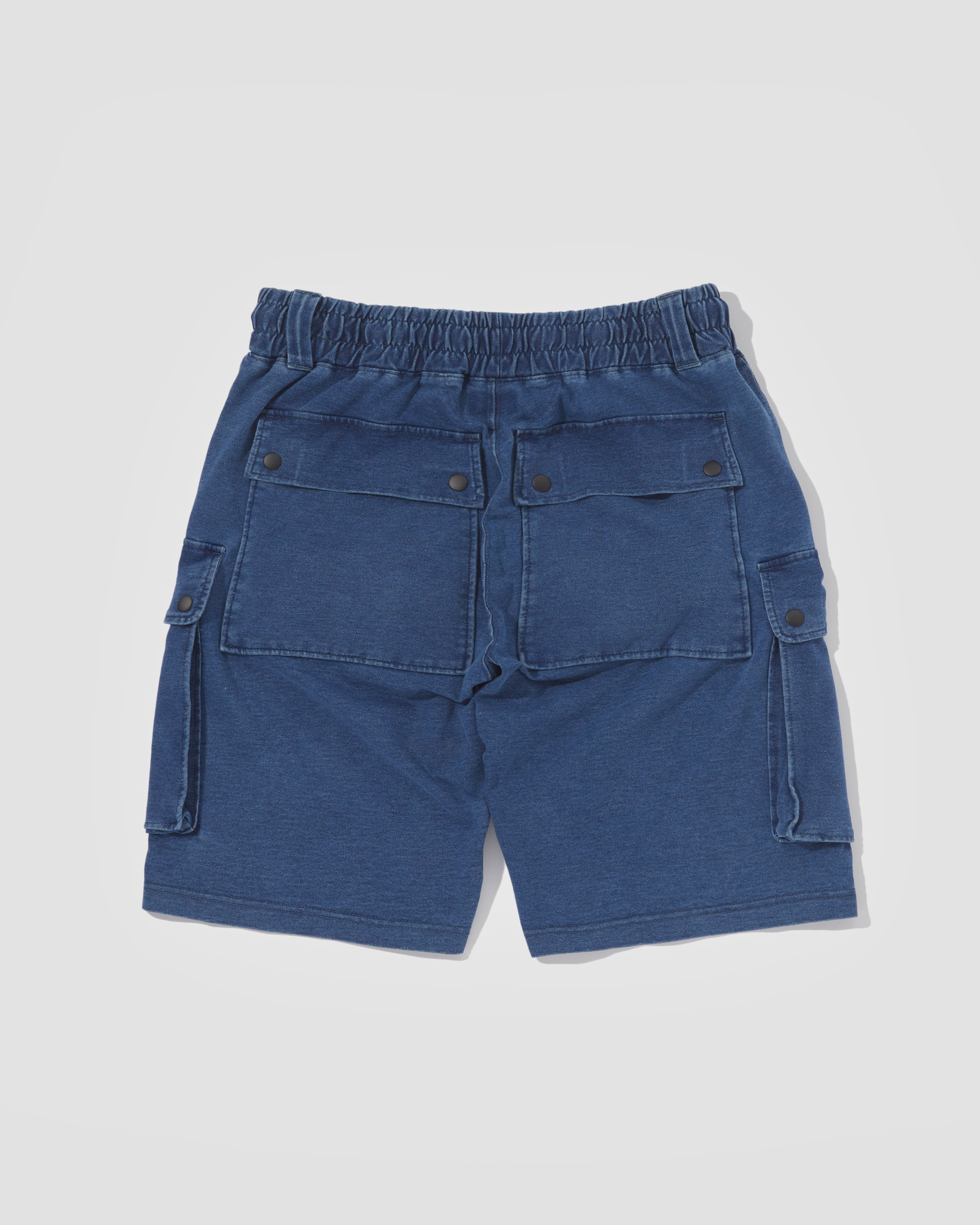 Knitted Shorts - Sky Blue