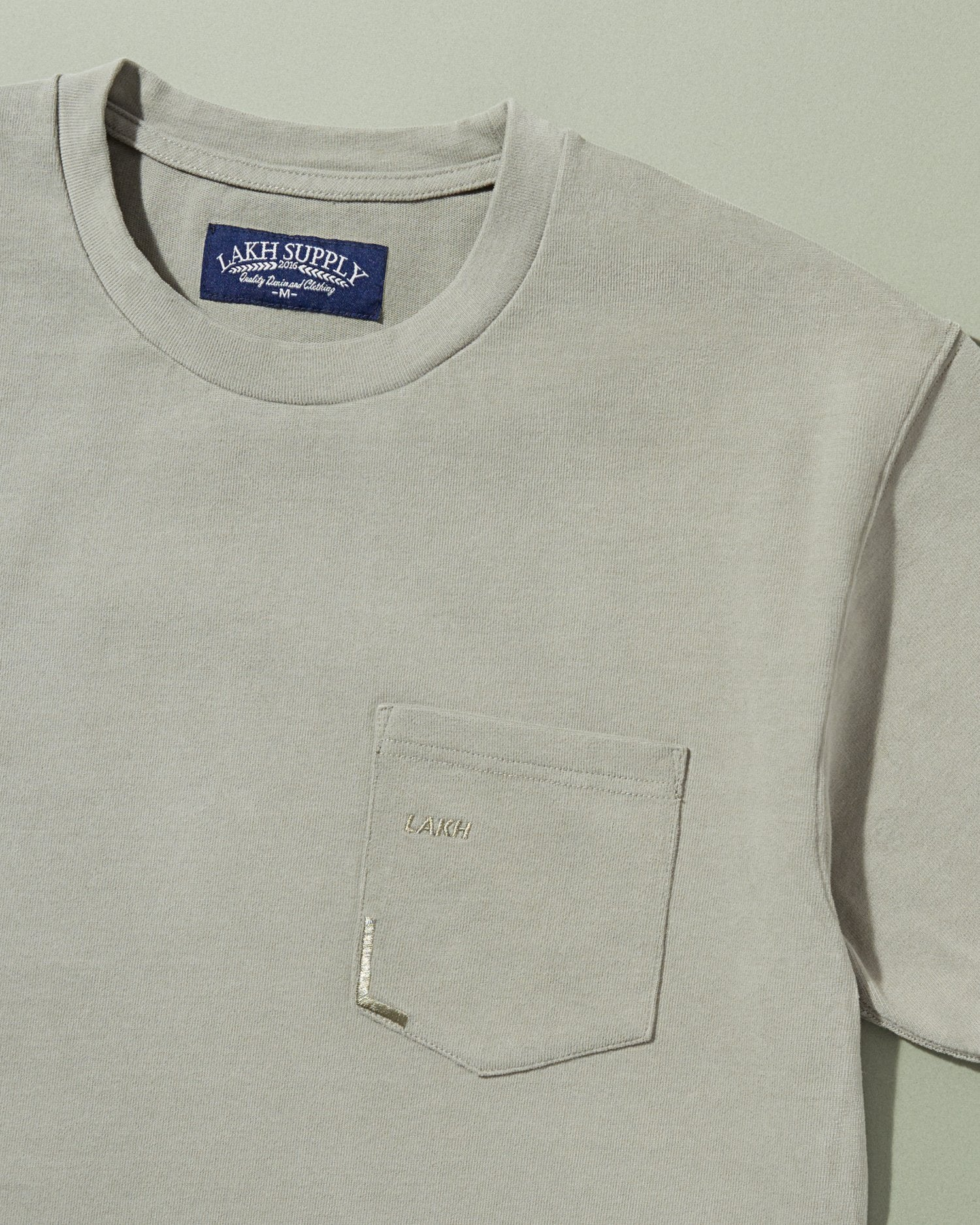 Pocket Tee - Grey