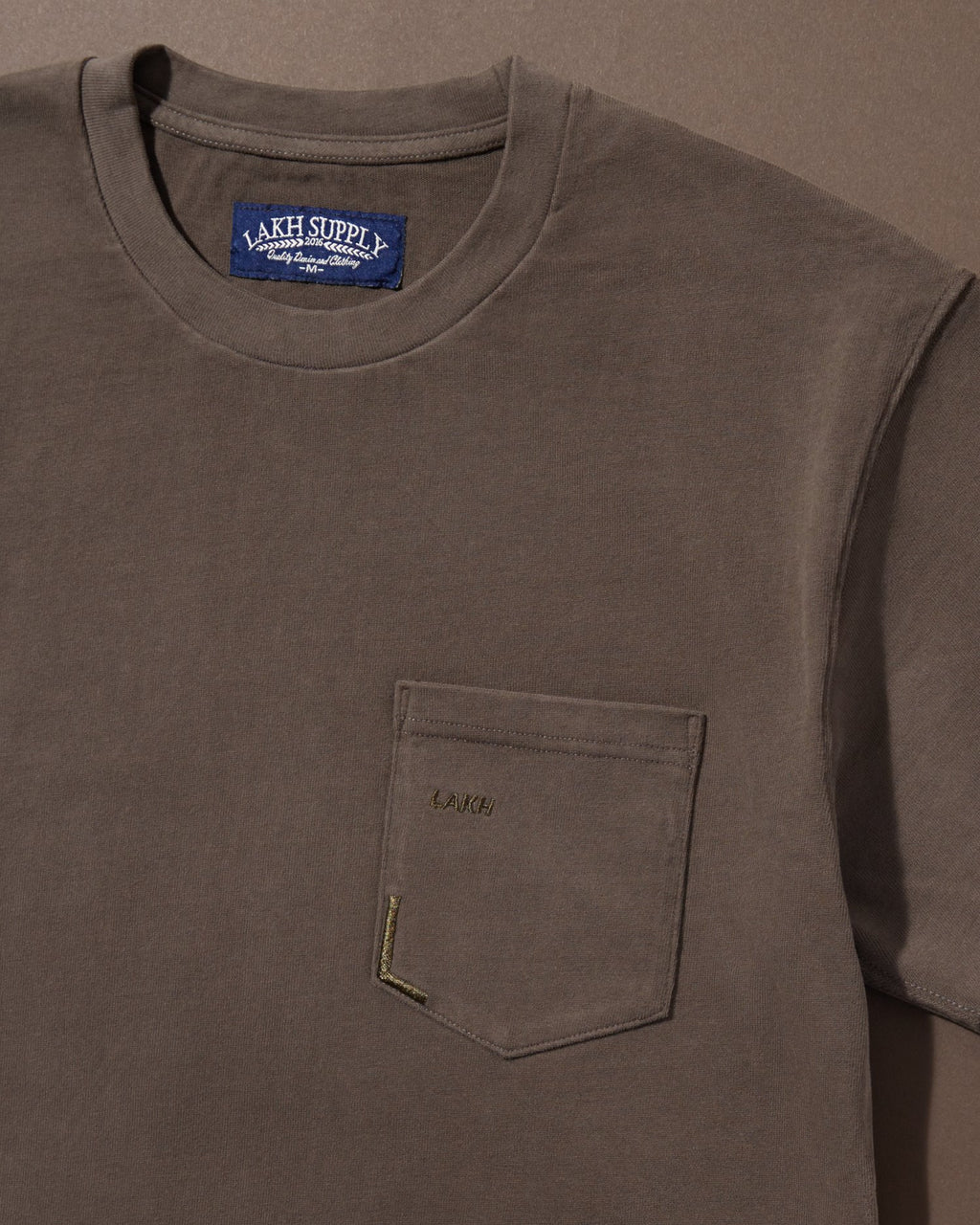 Pocket Tee - Battleship Grey