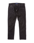 Button Pants - One Wash Black Denim