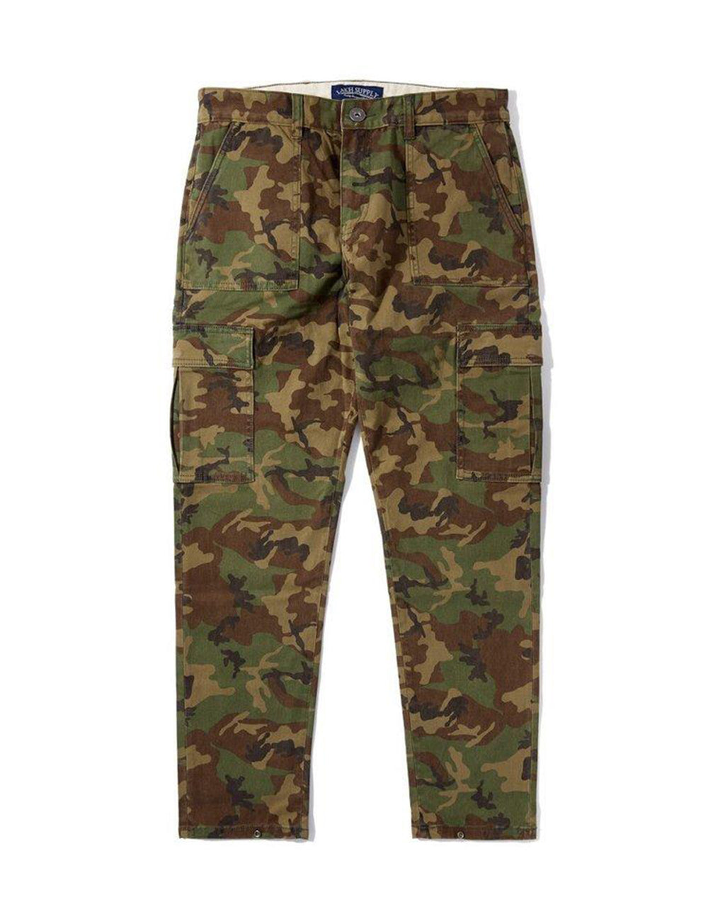 Button Pants - Woodland Camo