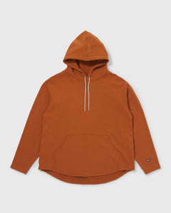 Knitted Hoodie - Dusty Orange