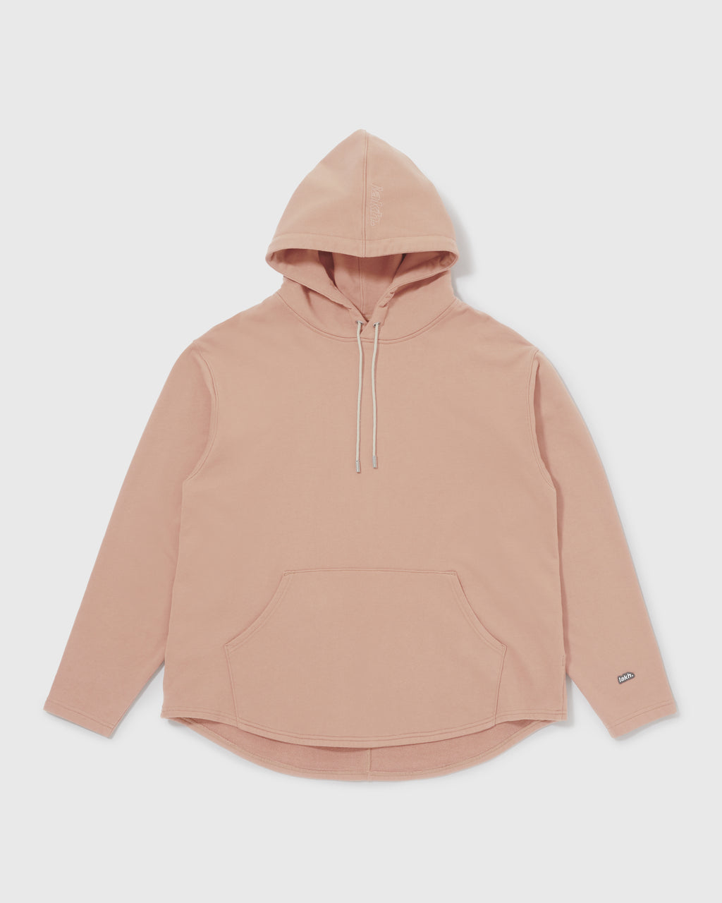 Knitted Hoodie - Coral