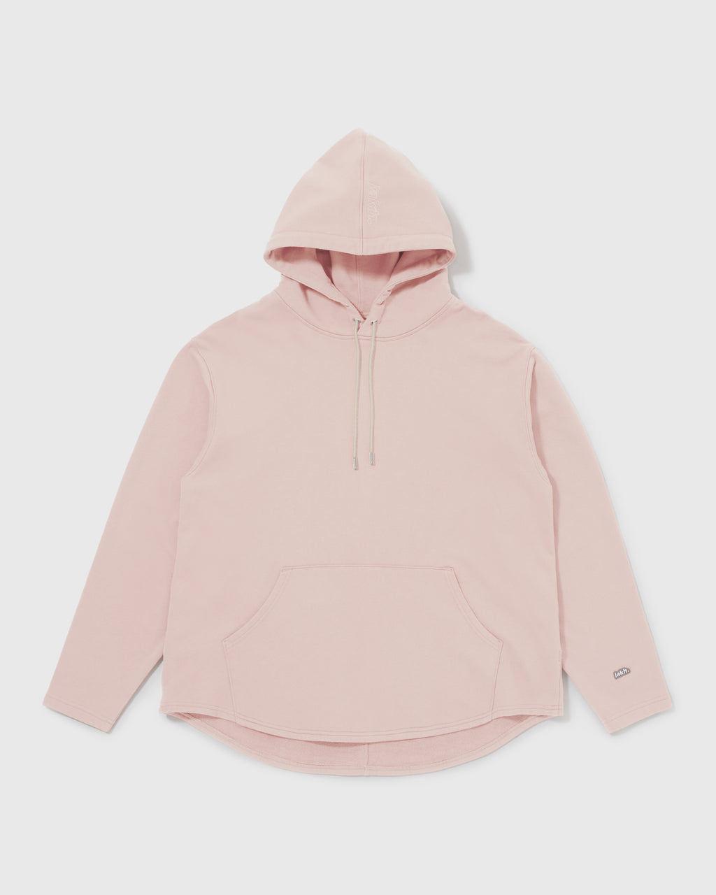 Knitted Hoodie - Pale Pink