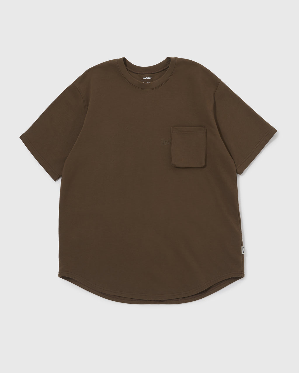 Knitted Utility Tee - Dark Green
