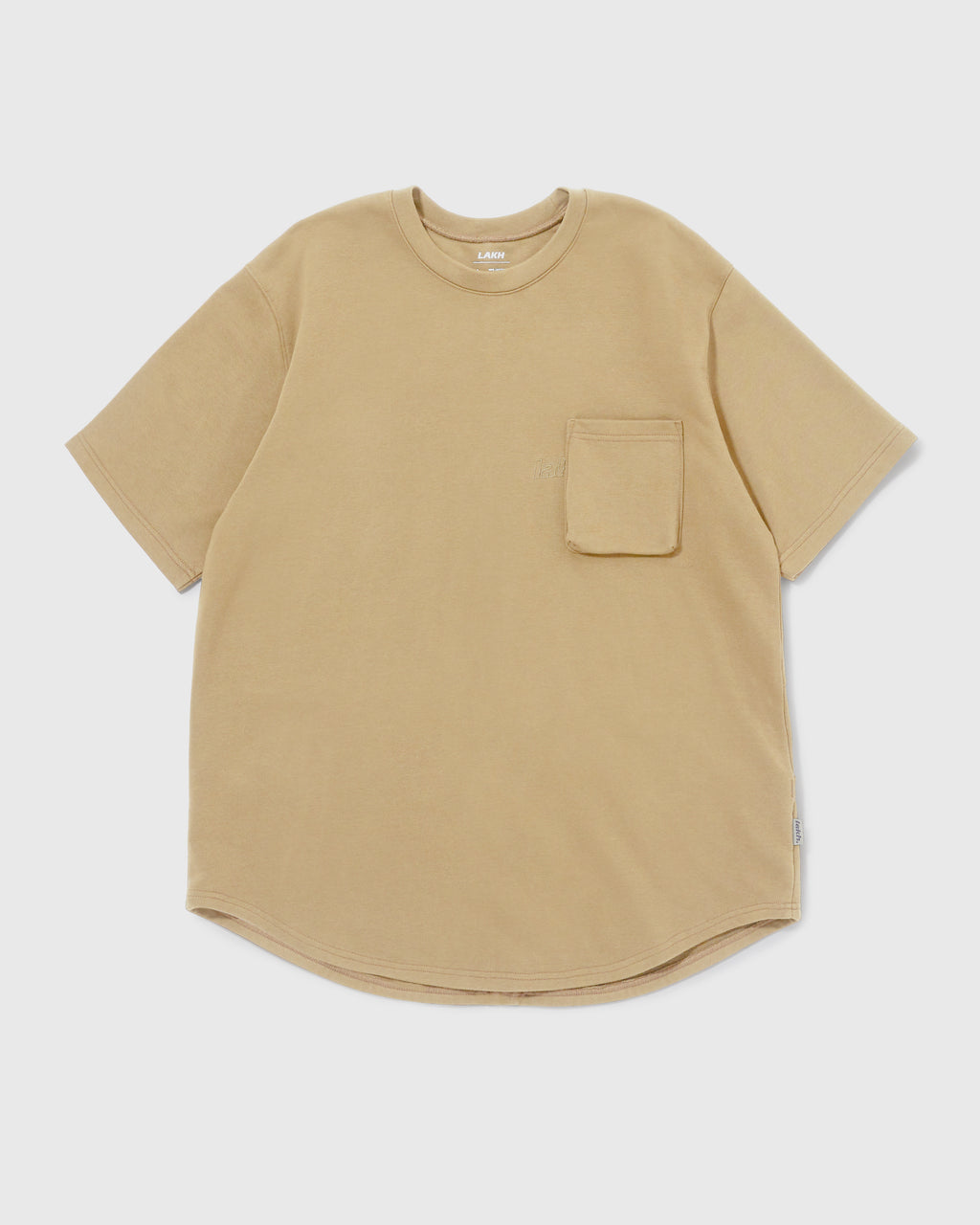 Knitted Utility Tee - Sand