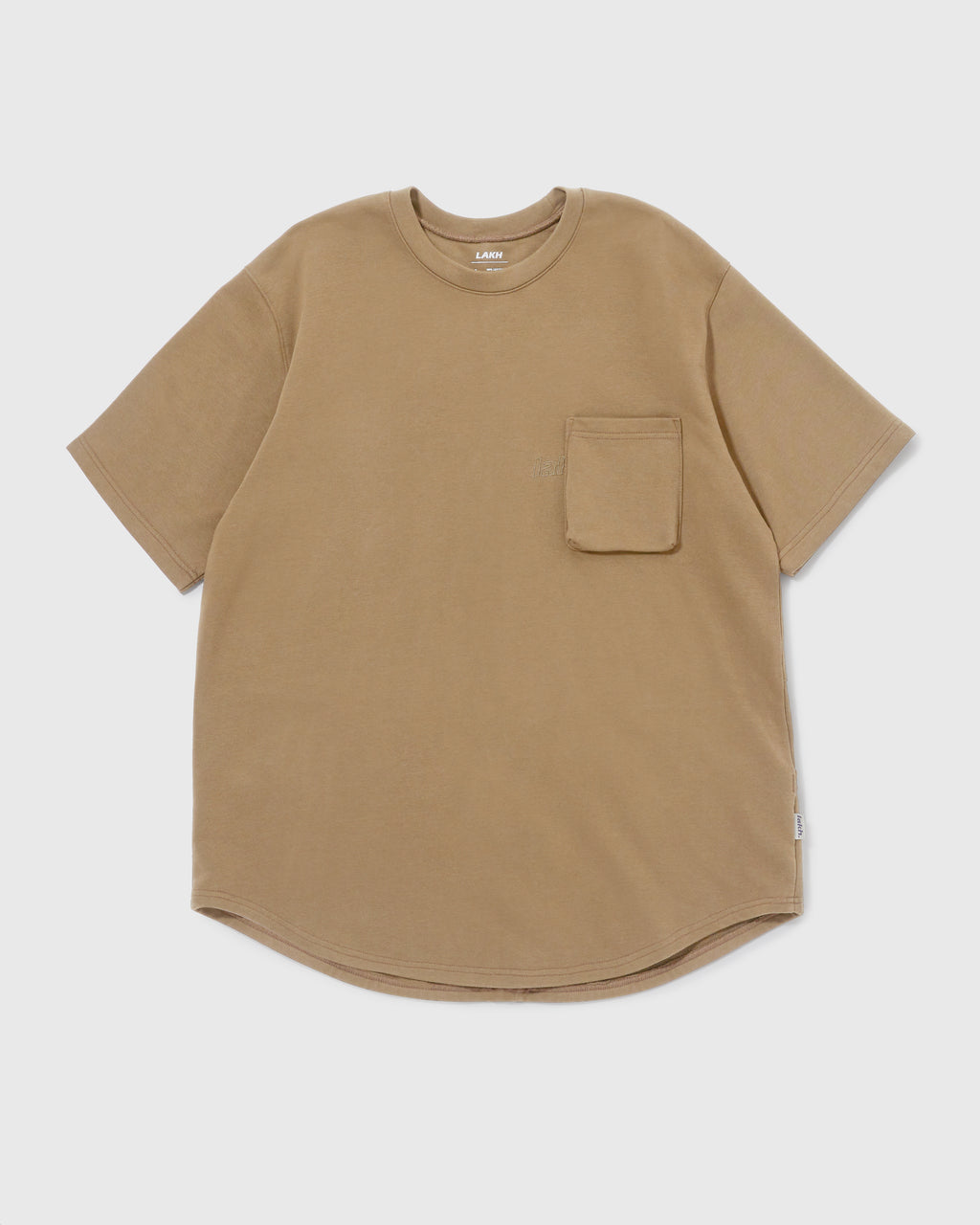 Knitted Utility Tee - Olive