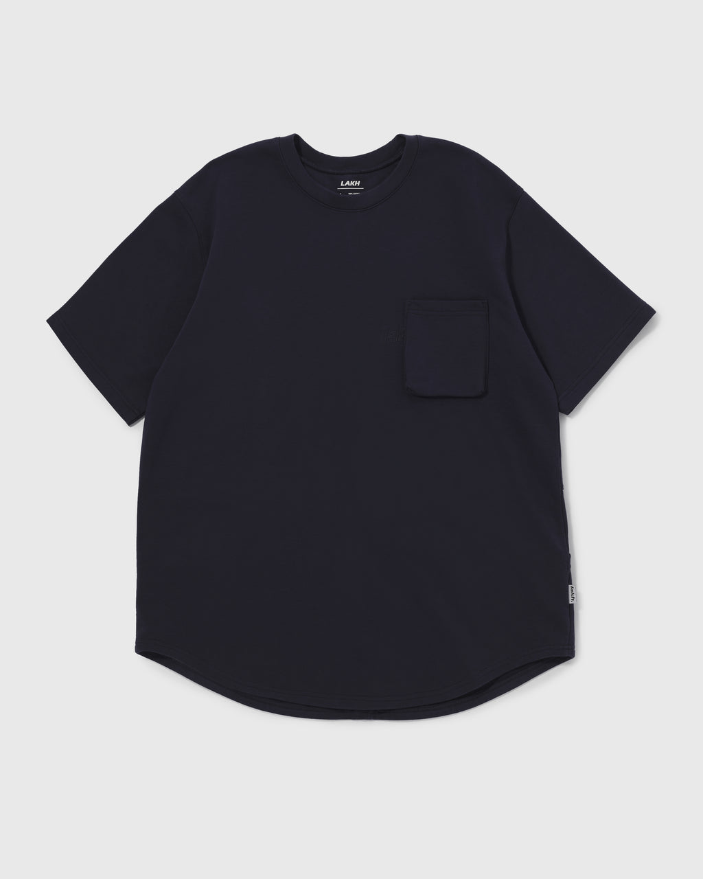 Knitted Utility Tee - Navy