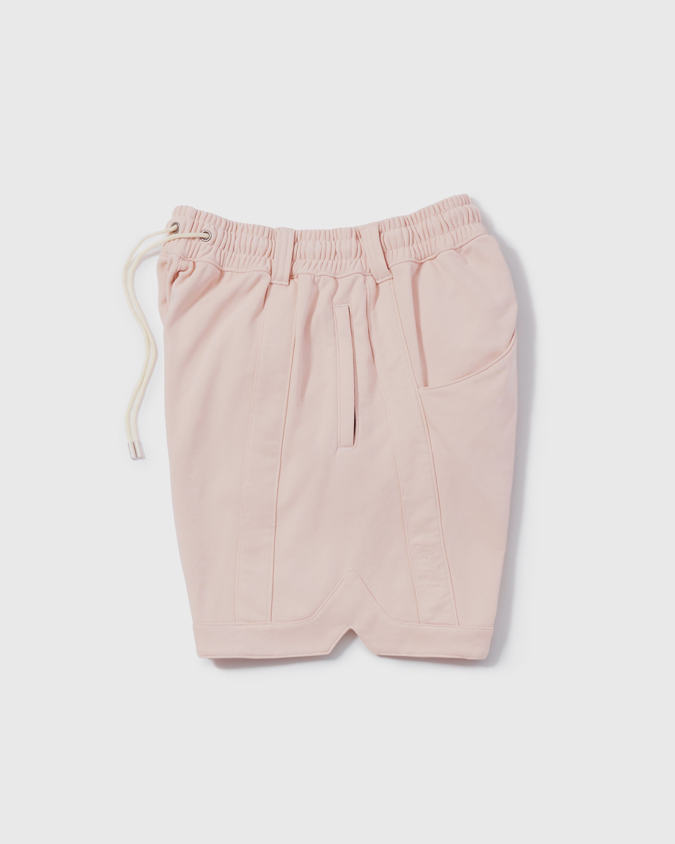Knitted Ball Shorts - Pale Pink