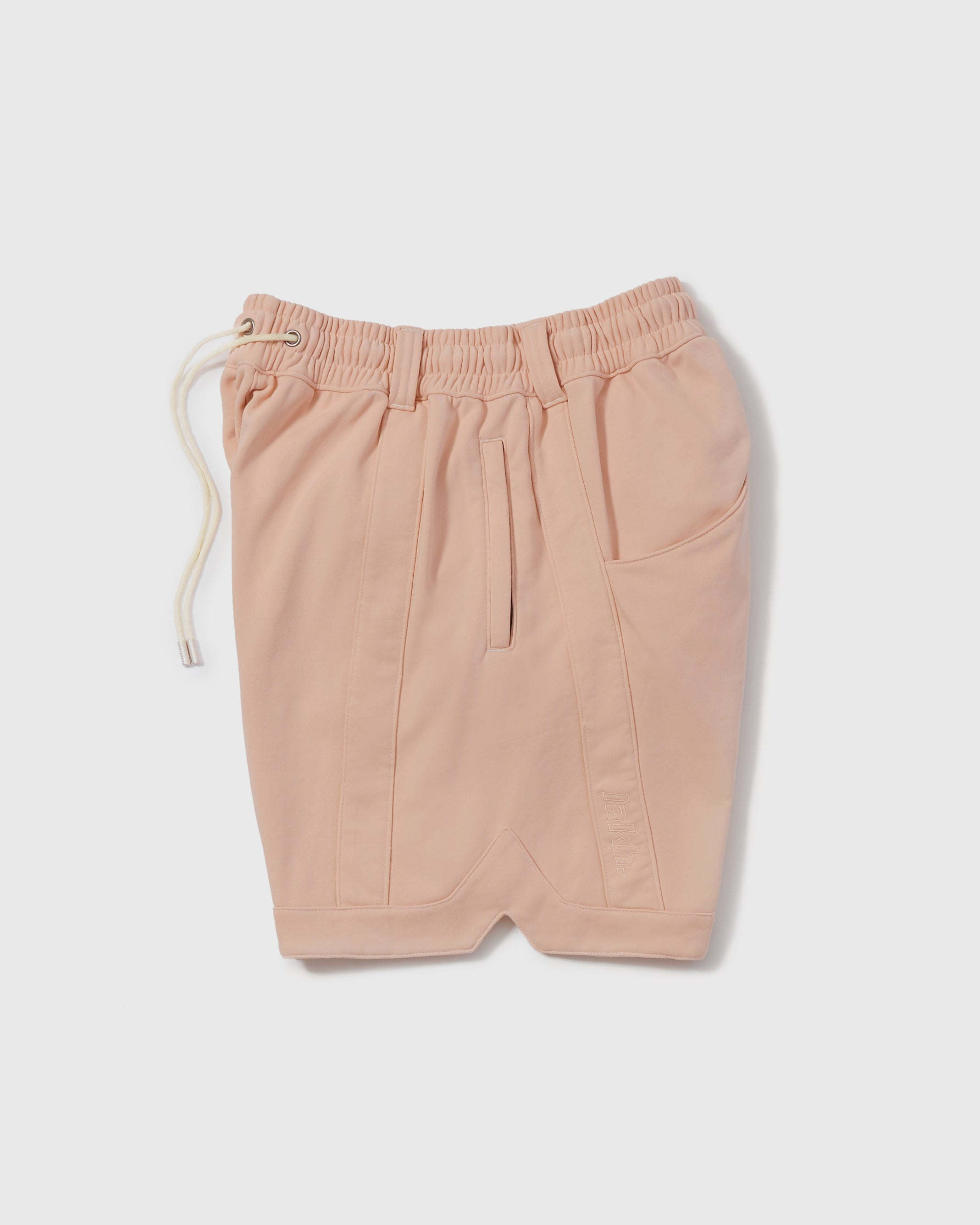 Knitted Ball Shorts - Coral