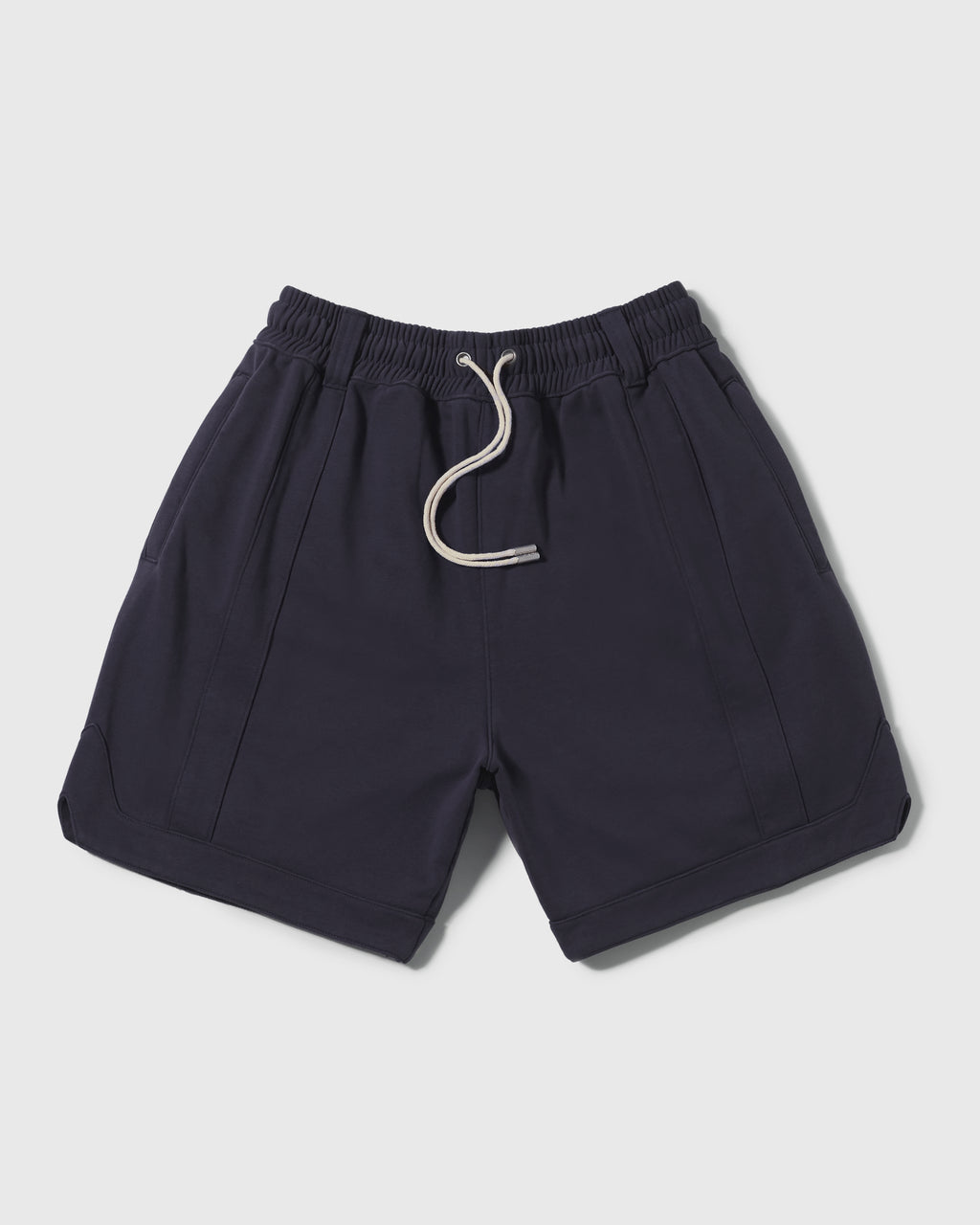 Knitted Ball Shorts - Navy