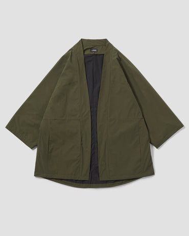Packable Lightweight Kimono - Olive