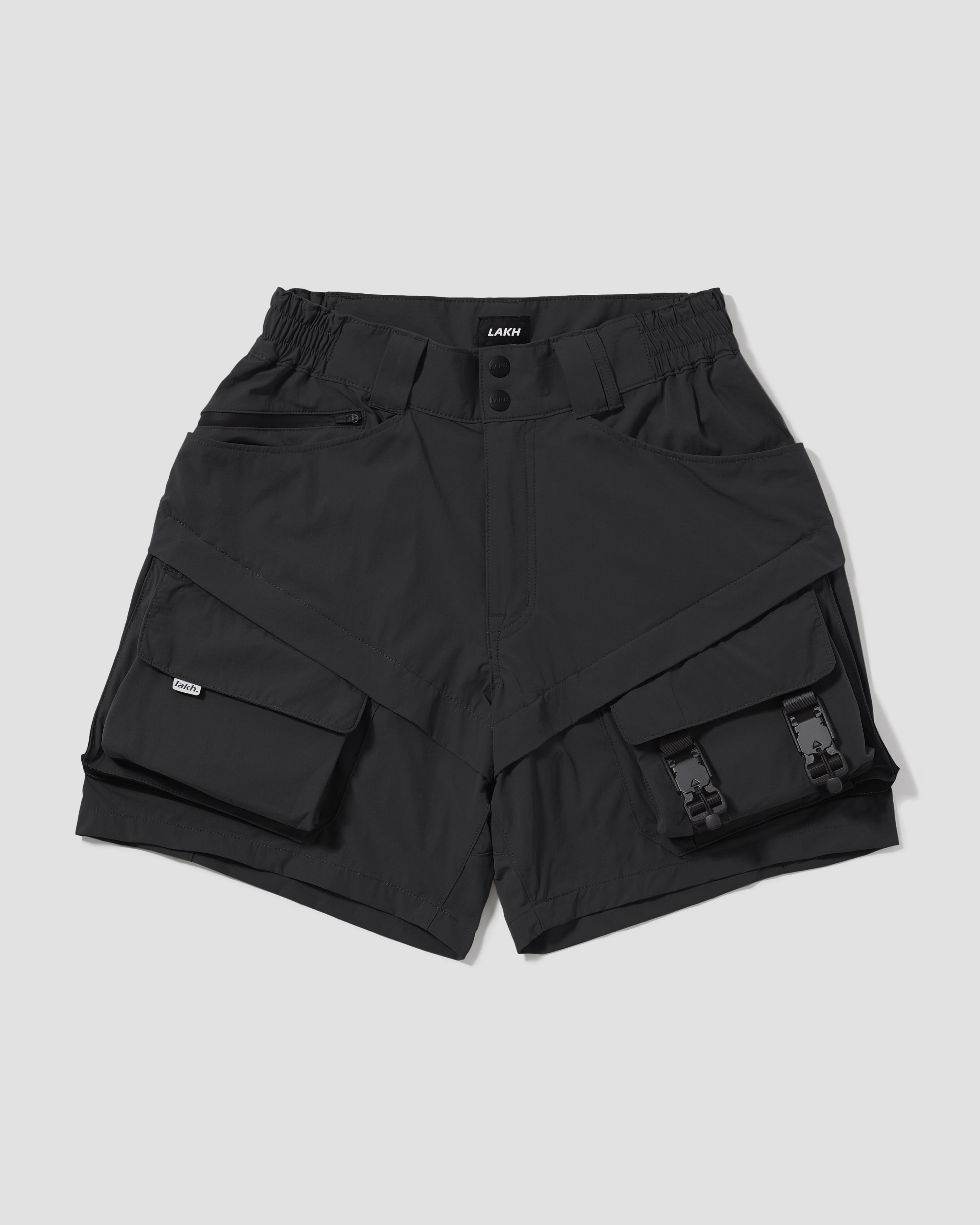 Ultra Lightweight Utility Shorts - Black