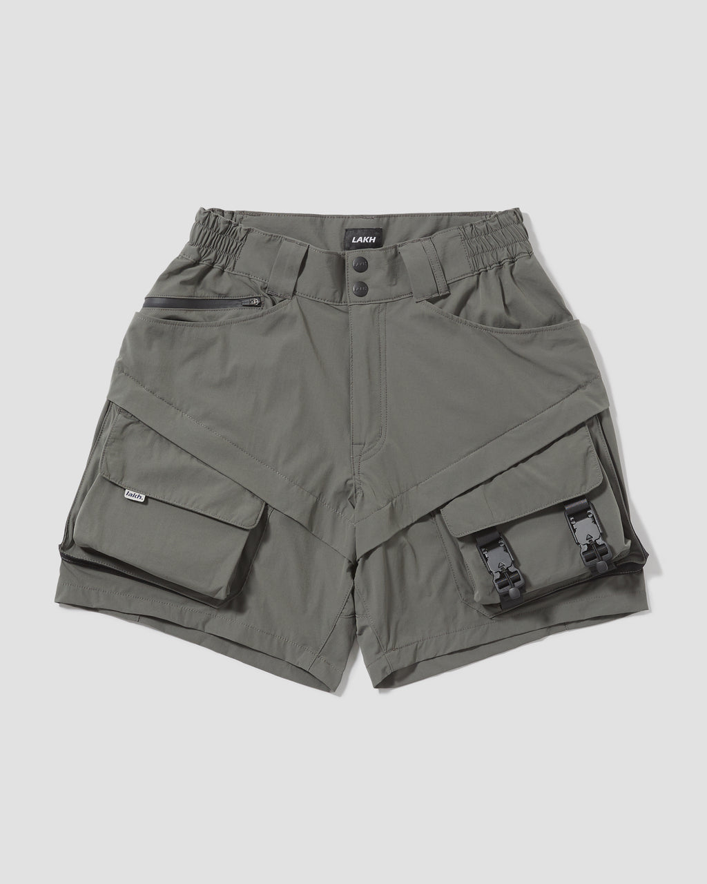 Ultra Lightweight Utility Shorts - Grey