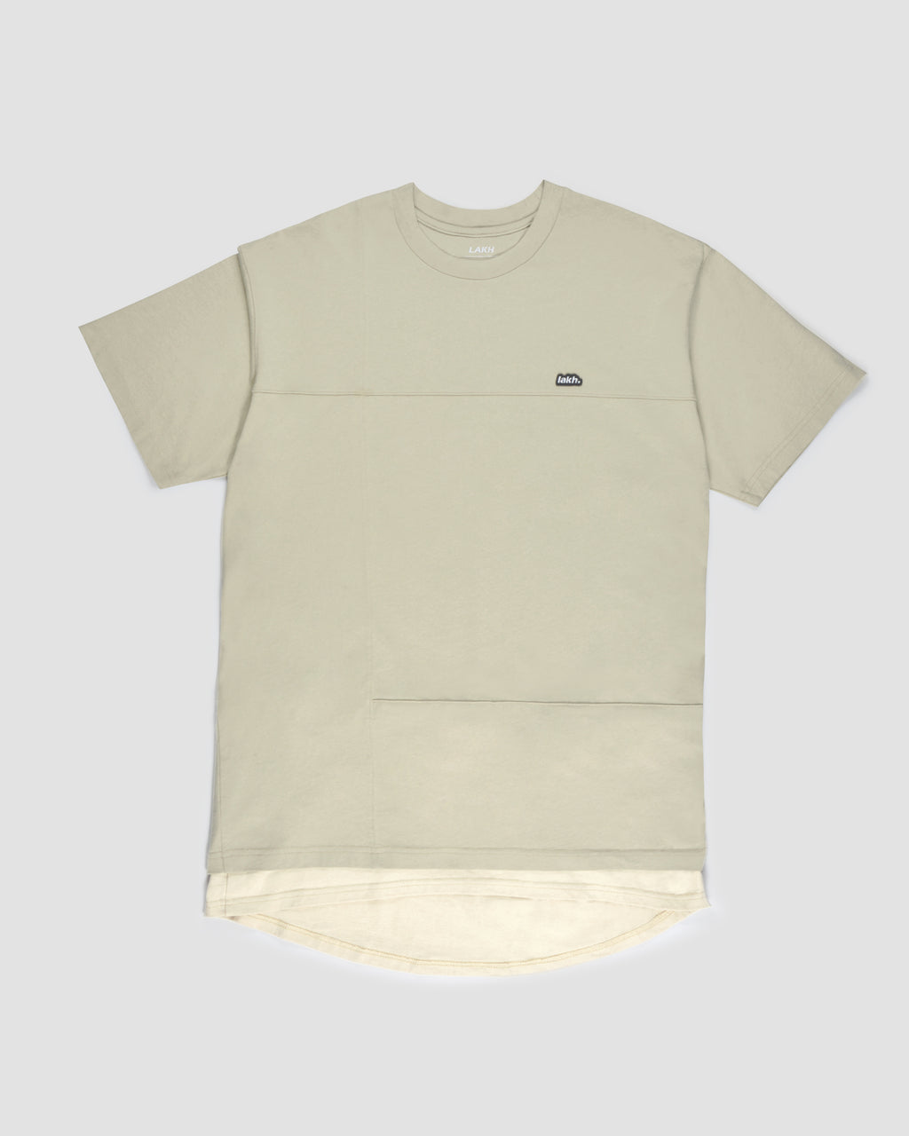 Layers Patch Tee - Rock