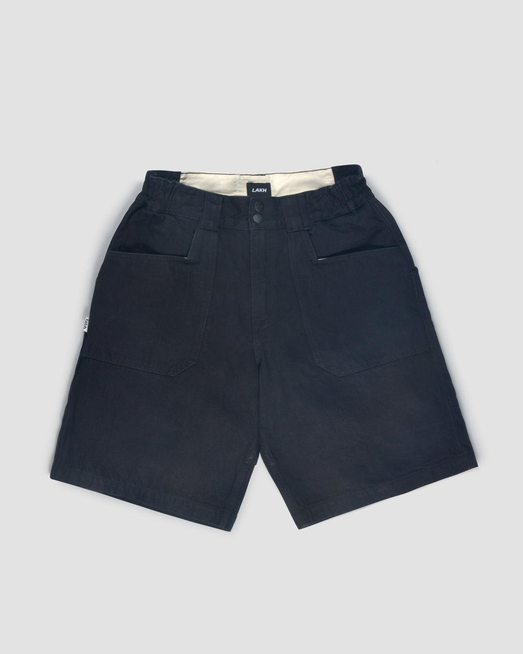 Fatigue Shorts - Denim Black