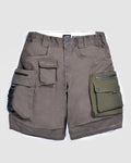 LAKH4ANNIVERSARY Ten Pockets Cargo Shorts