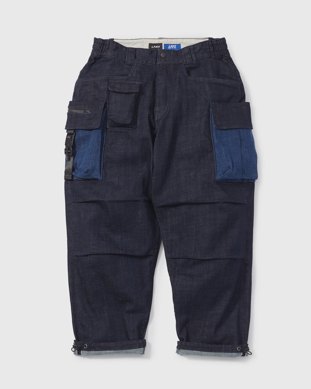 LAKH X LFYT Ten Pockets Denim Pants - Navy