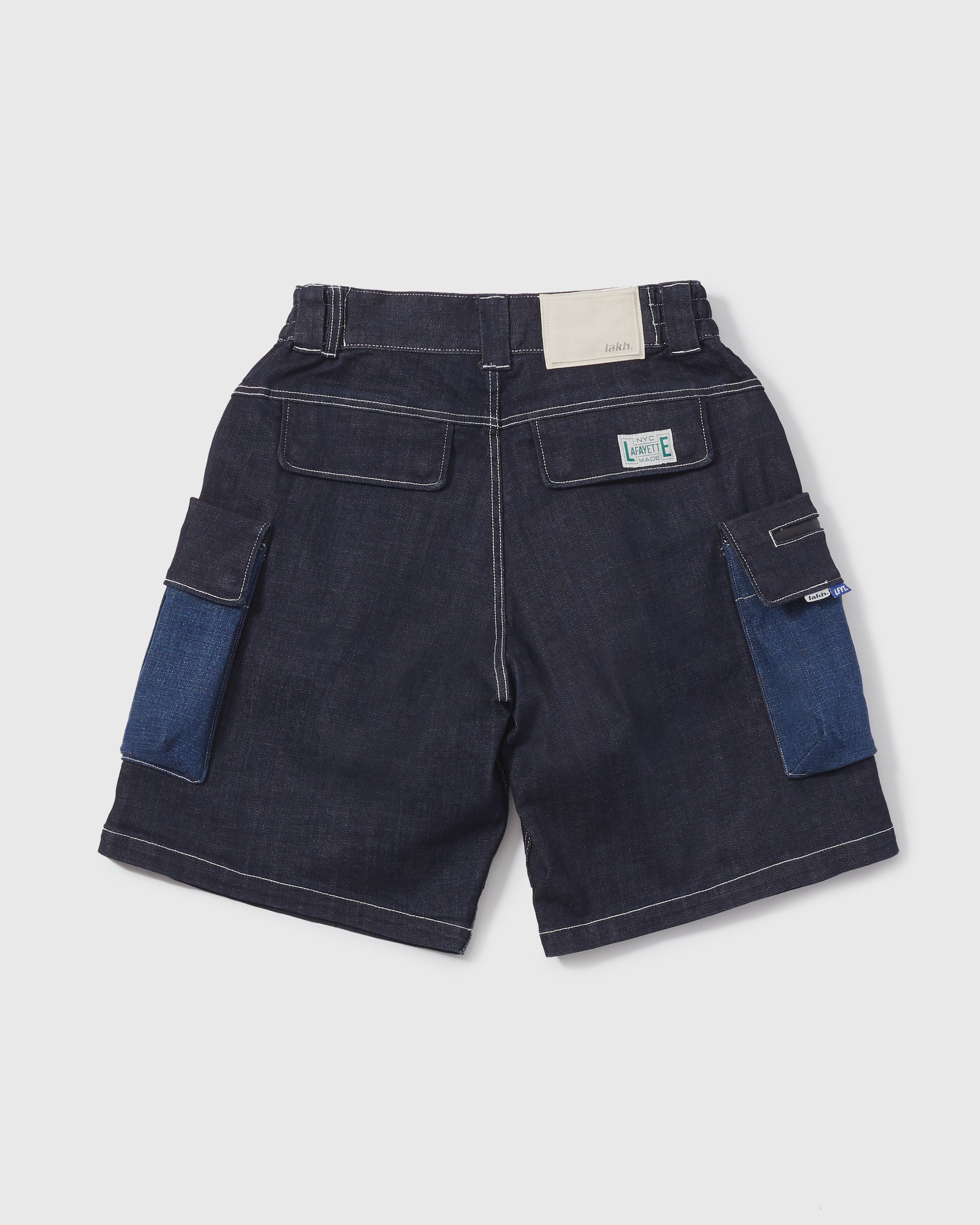 LAKH X LFYT Ten Pockets Cargo Shorts - Navy