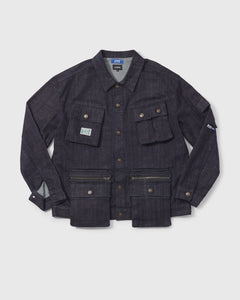 LAKH X LFYT Ten Pockets Denim Jacket - Navy