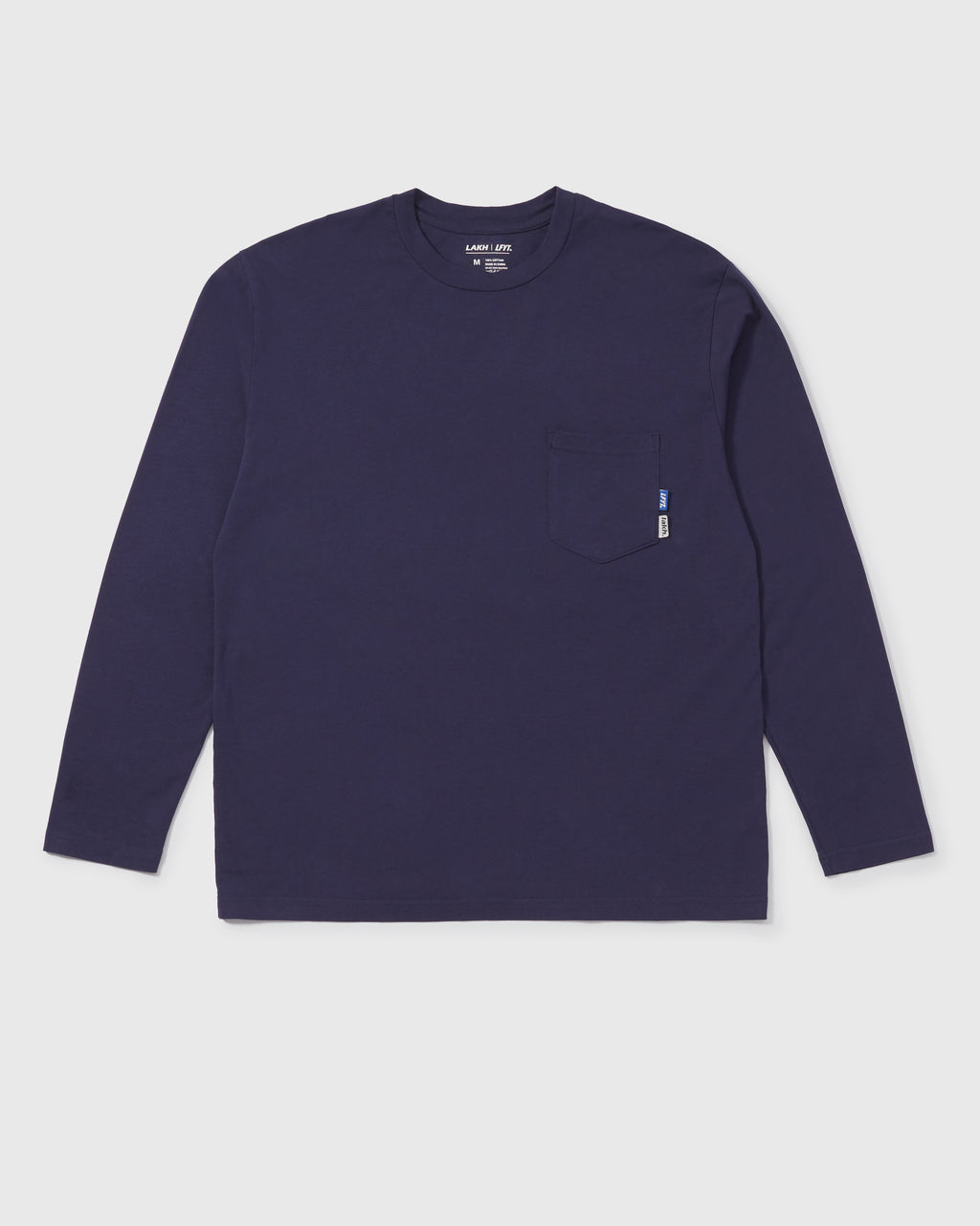 LAKH X LFYT Pocket Long Tee - Navy