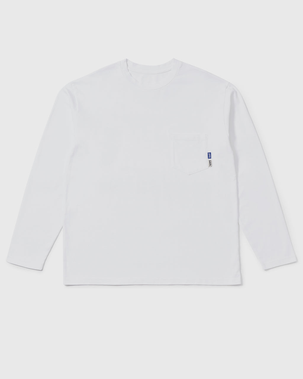 LAKH X LFYT Pocket Long Tee - White