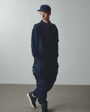 Ten Pockets Cargo Pants - Denim Navy