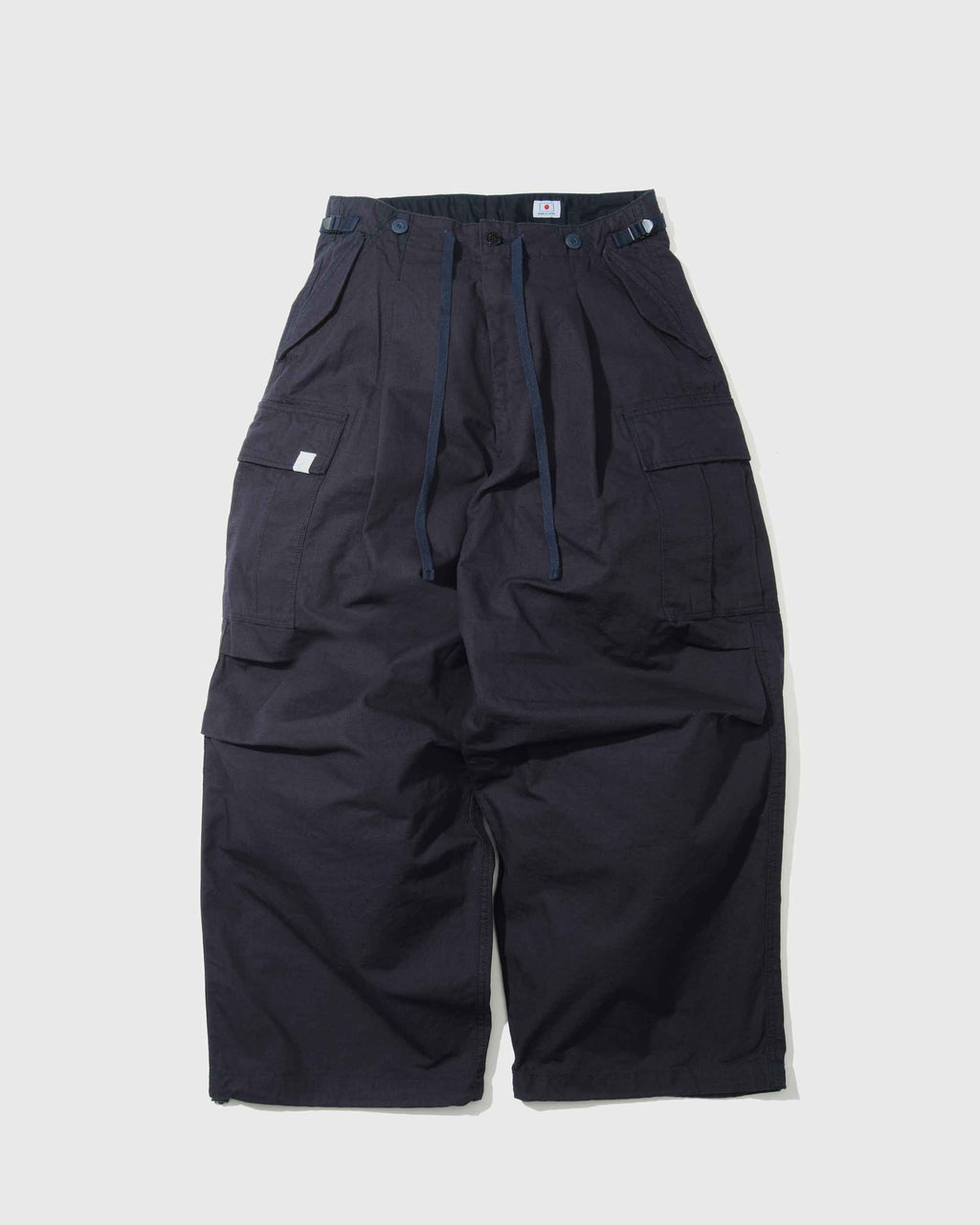Huge Pockets Cargo Pants - Navy