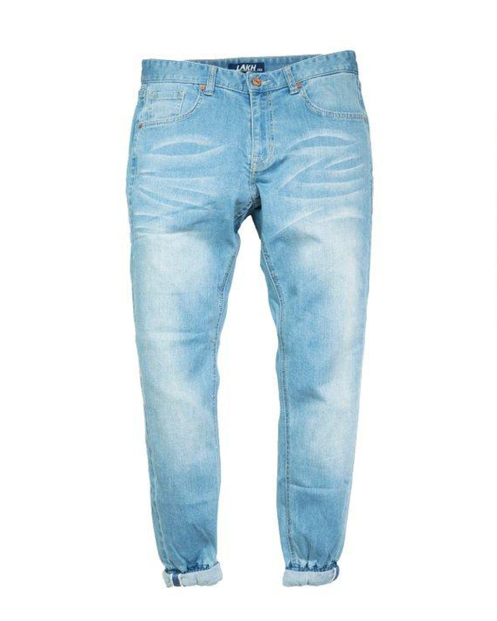Pinroll Jogger Jeans - Classic Light Blue