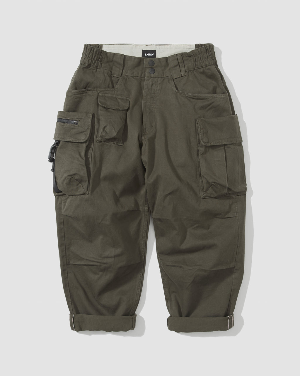 Ten Pockets Cargo Pants - Olive