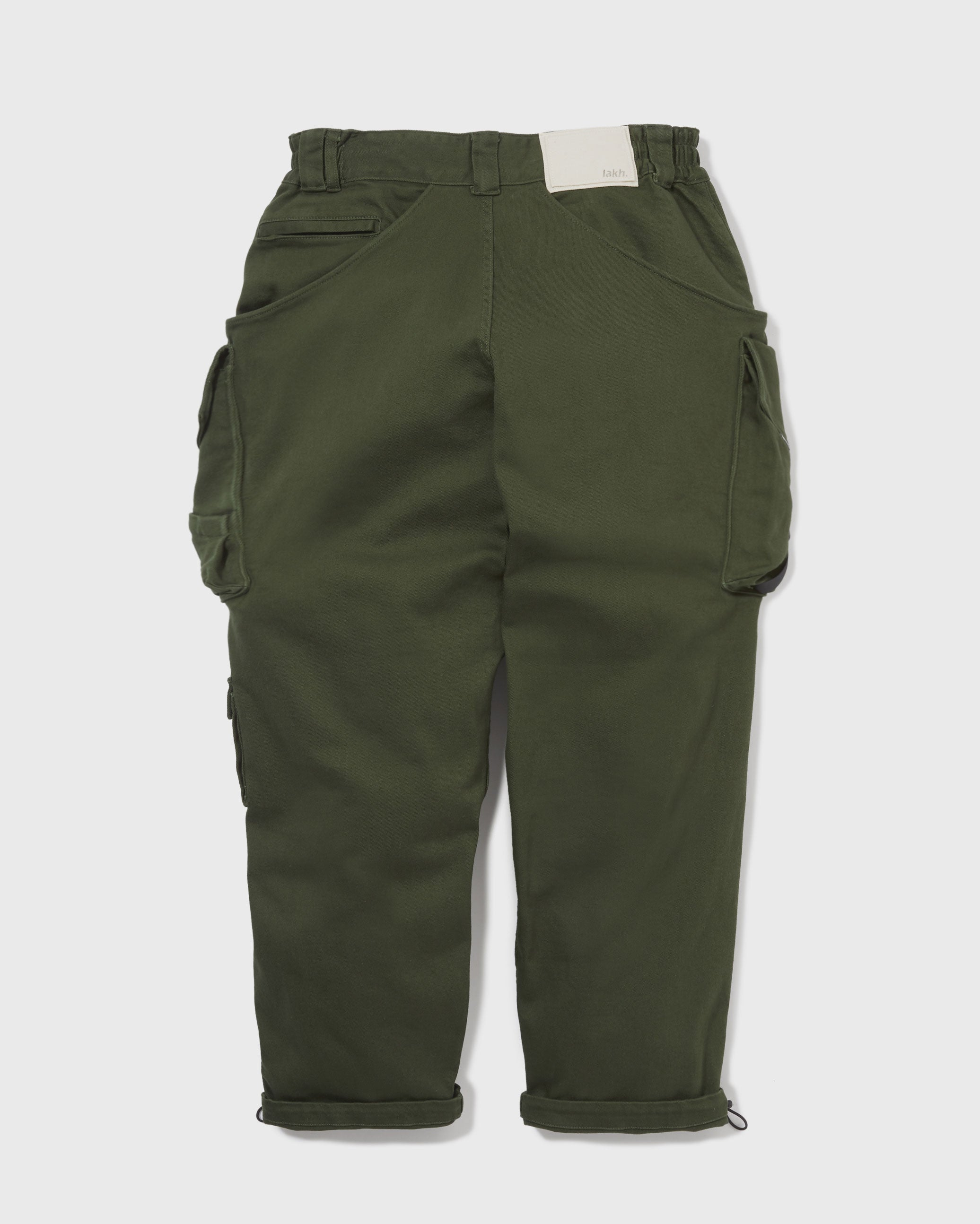 Twelve Pockets Cargo Pants - Olive