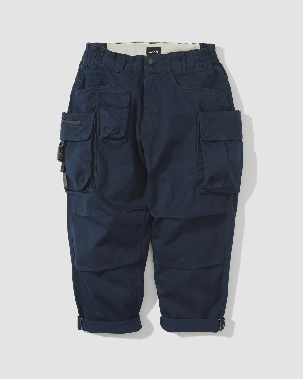 Ten Pockets Cargo Pants - Navy
