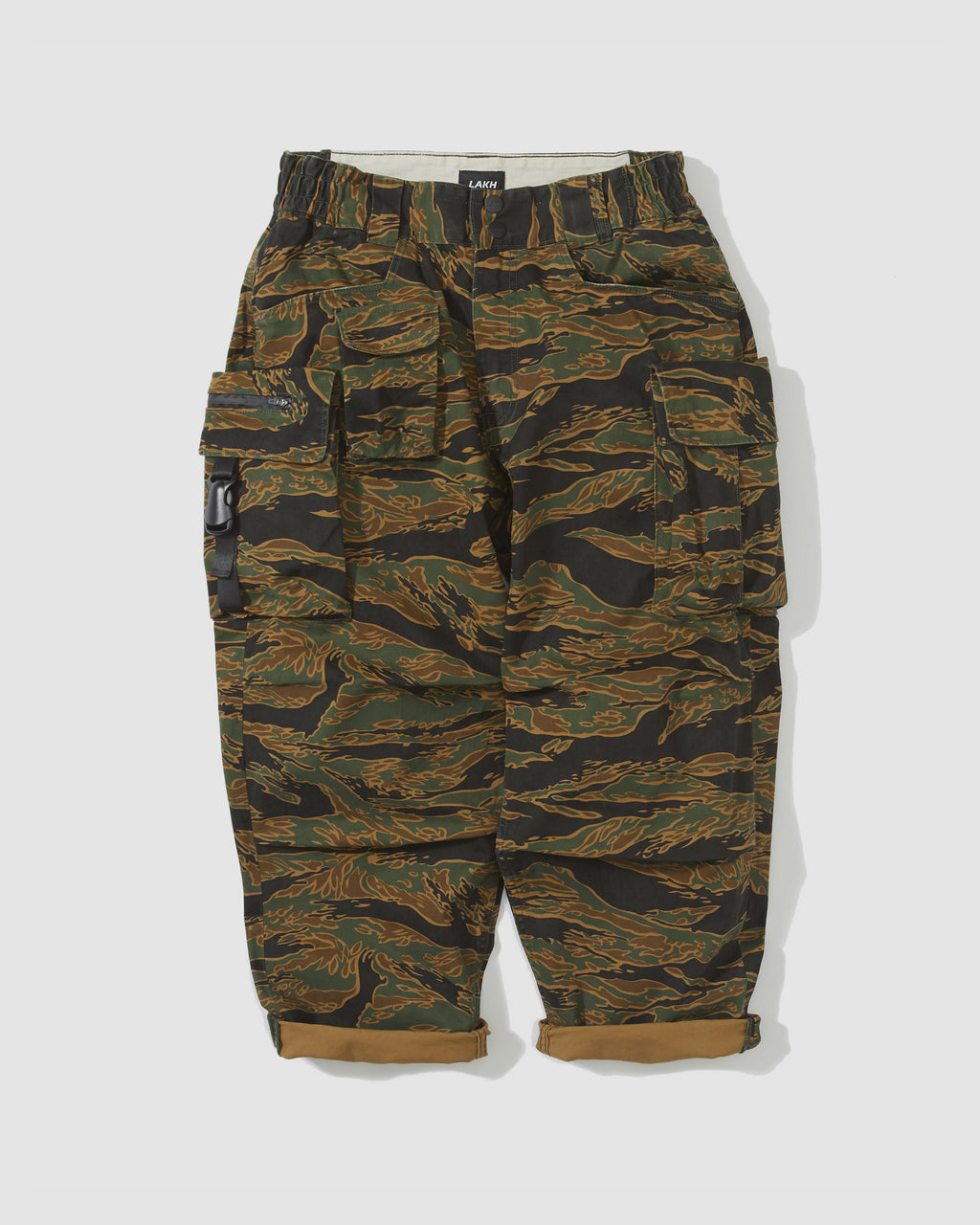 Ten Pockets Cargo Pants - Tiger Camo